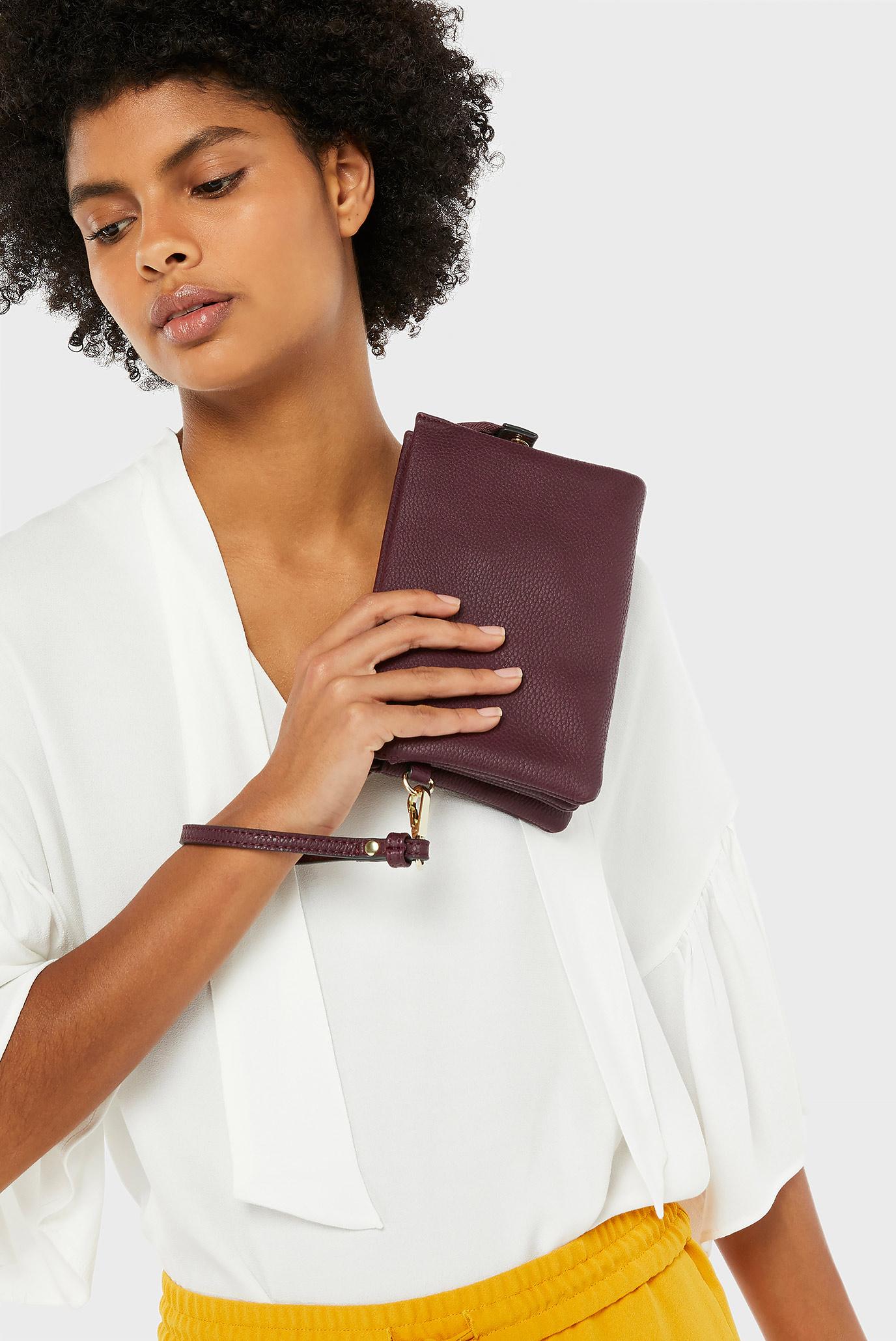 Купить Женская бордовая сумка через плечо SHERATON XBODY Accessorize Accessorize 589842 – Киев, Украина. Цены в интернет магазине MD Fashion
