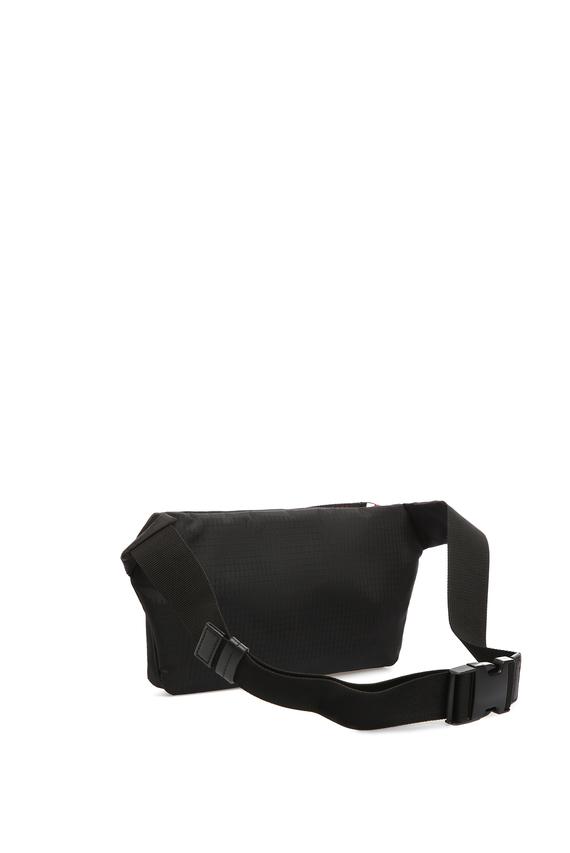 Мужская черная поясная сумка