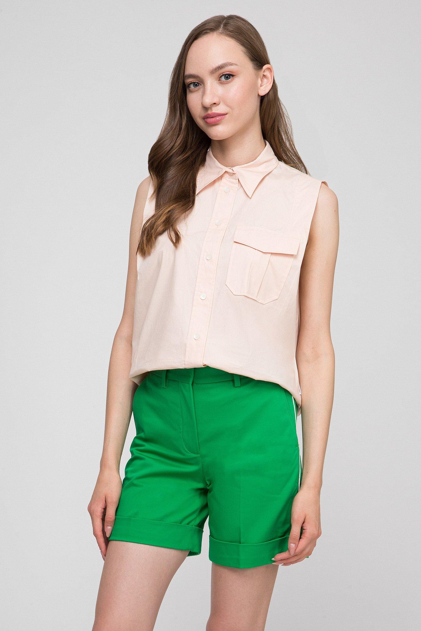 Купить Женская персиковая рубашка POLICE Calvin Klein Calvin Klein K20K200551 – Киев, Украина. Цены в интернет магазине MD Fashion