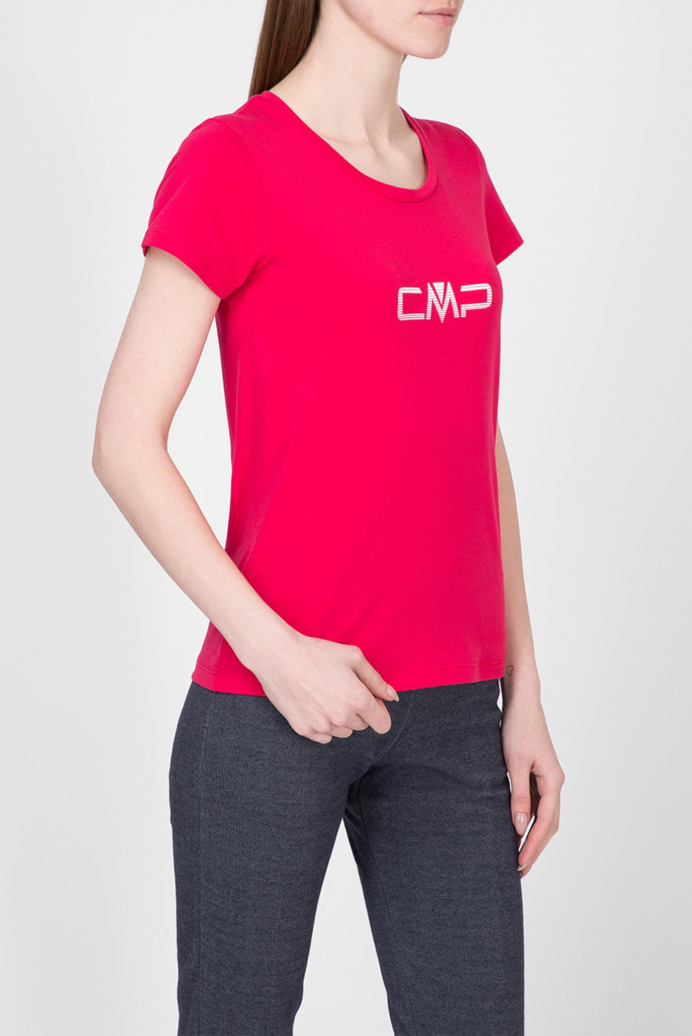 Жіноча малинова футболка 1