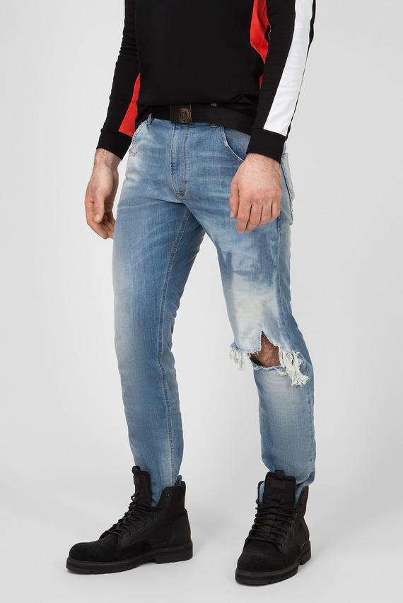 Мужские голубые джинсы KROOLEY-T