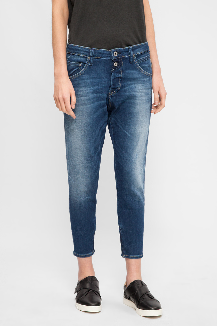 Женские синие джинсы PILAR ANKLE ZIP