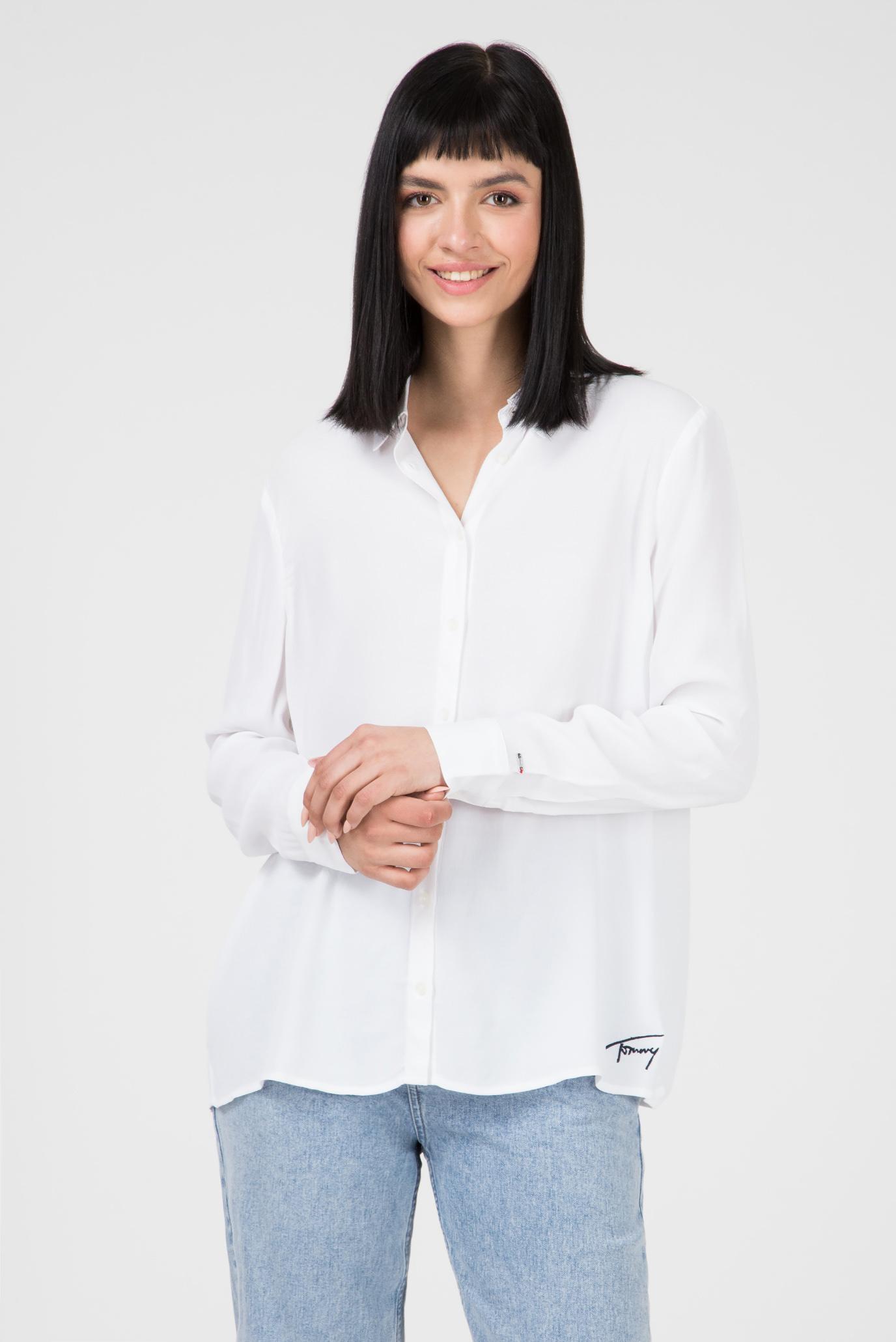Купить Женская белая блуза TJW ESSENTIAL FLUID Tommy Hilfiger Tommy Hilfiger DW0DW05644 – Киев, Украина. Цены в интернет магазине MD Fashion