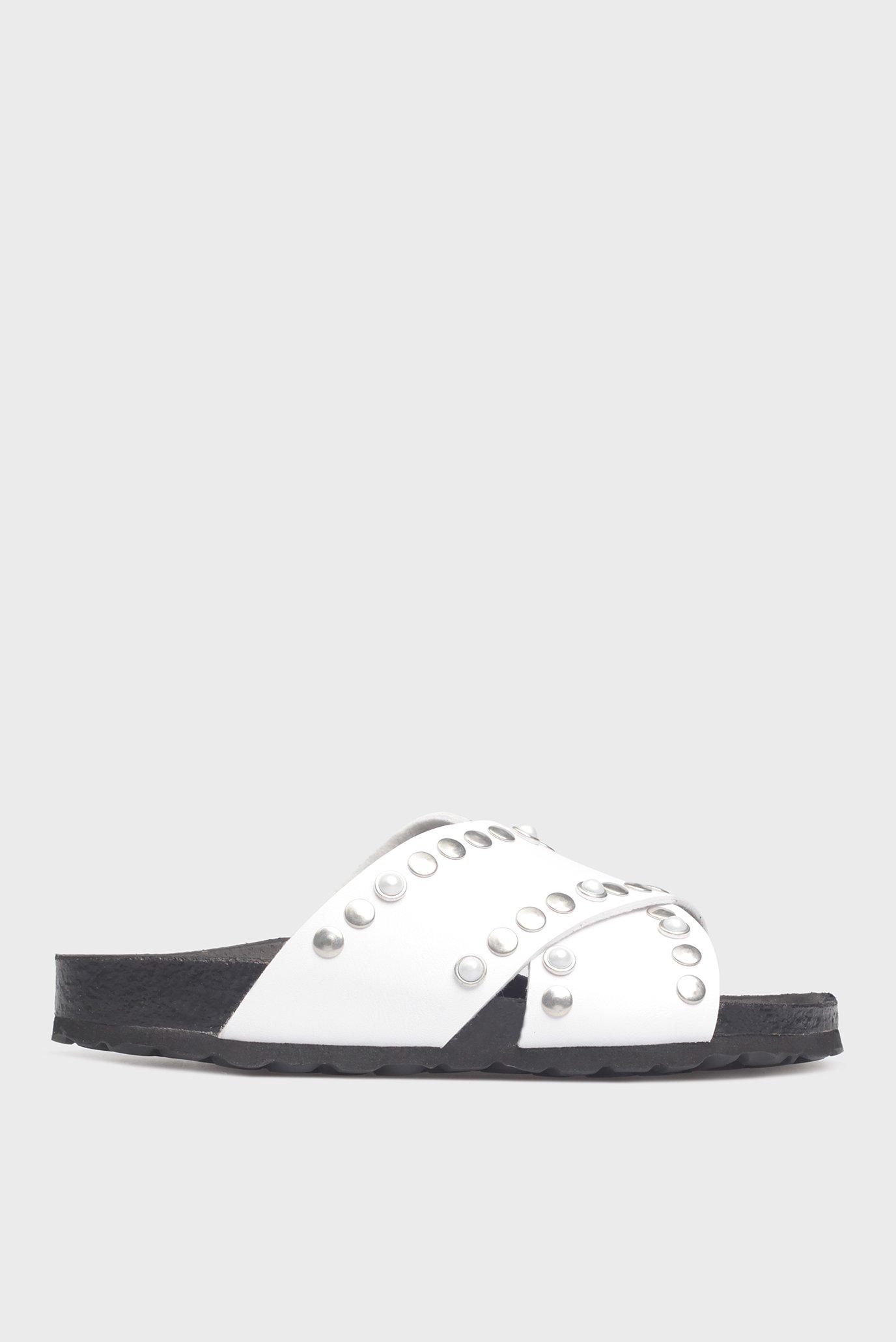 Купить Женские белые слайдеры Preppy Preppy 8.71.9458.2 – Киев, Украина. Цены в интернет магазине MD Fashion