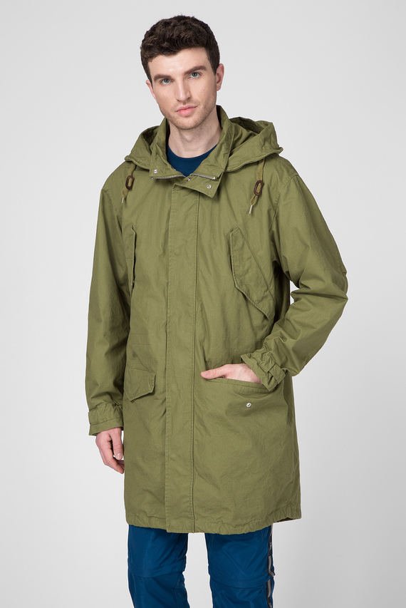 Мужская зелёная куртка