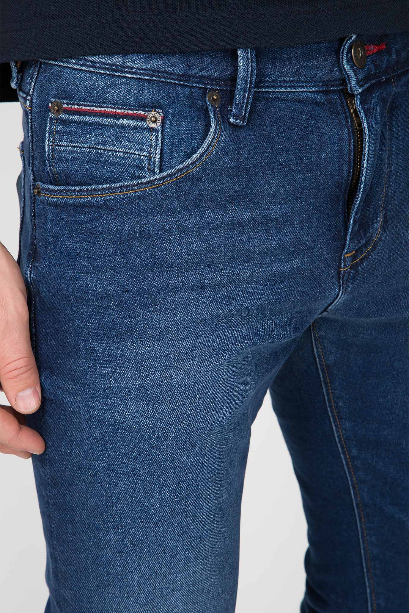 Купить Мужские синие джинсы Tommy Hilfiger Tommy Hilfiger MW0MW08097 – Киев, Украина. Цены в интернет магазине MD Fashion