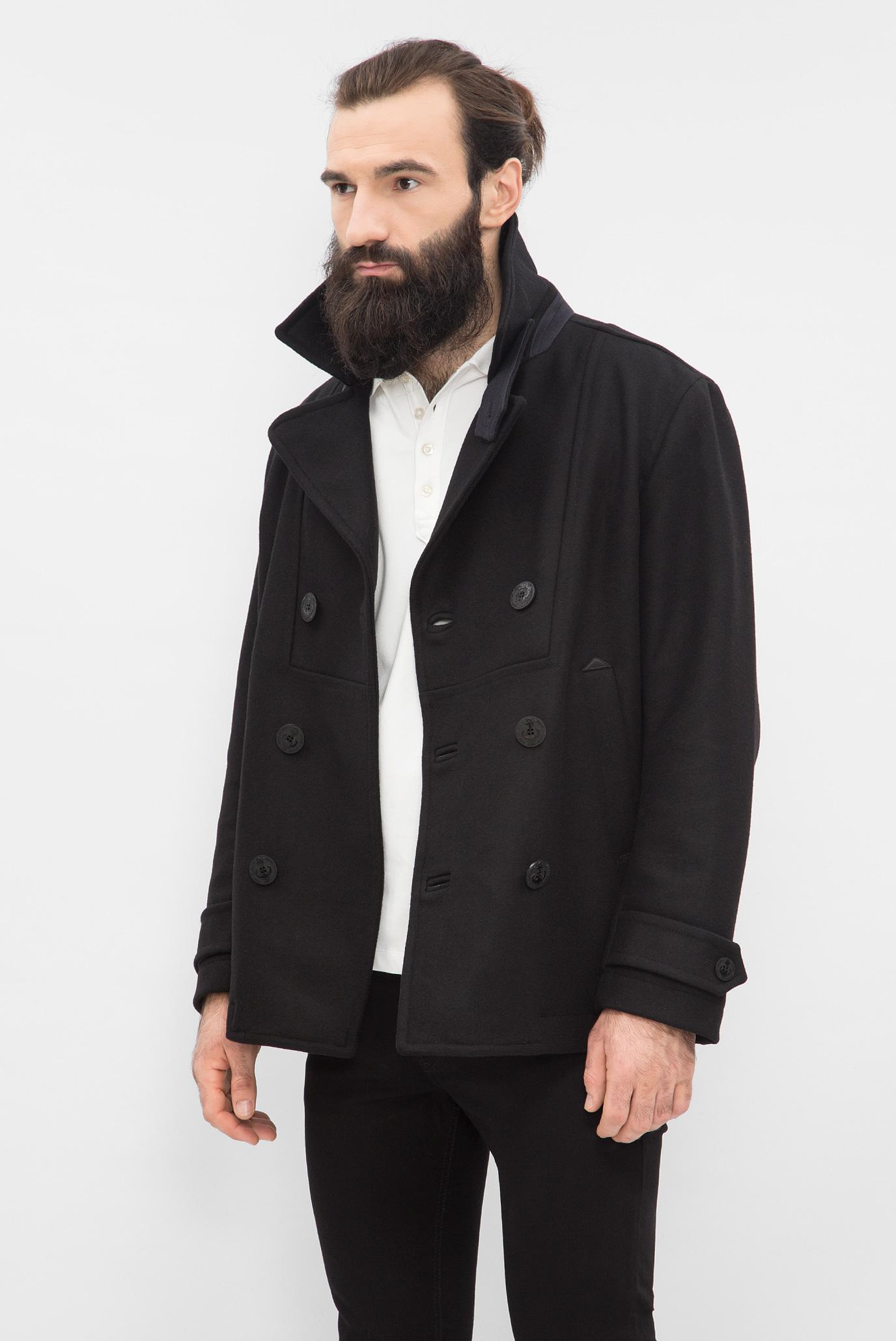 Купить Мужское черное пальто Diesel Diesel 00S13E 0SAJB – Киев, Украина. Цены в интернет магазине MD Fashion