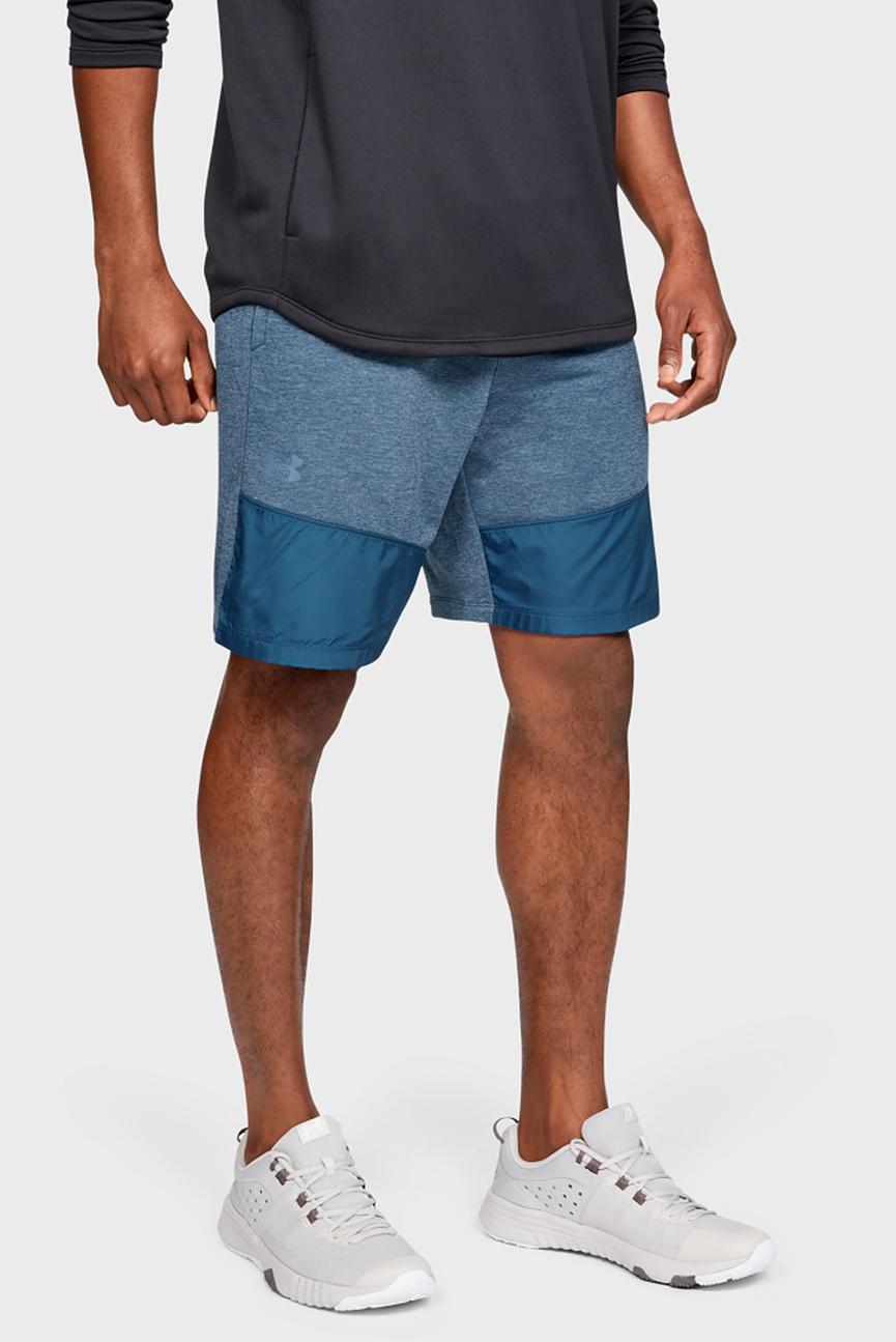 Мужские синие спортивные шорты UA MK-1 Terry