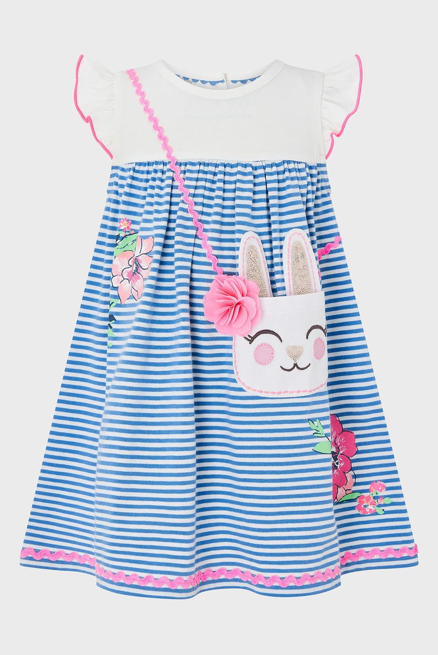 Детское голубое платье BABY ELLIE MAY