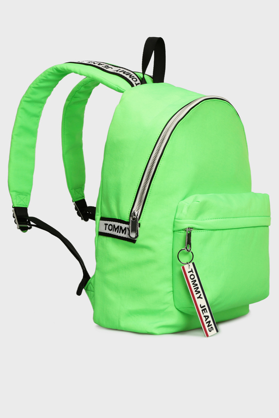 Мужской зеленый рюкзак TJM LOGO TAPE
