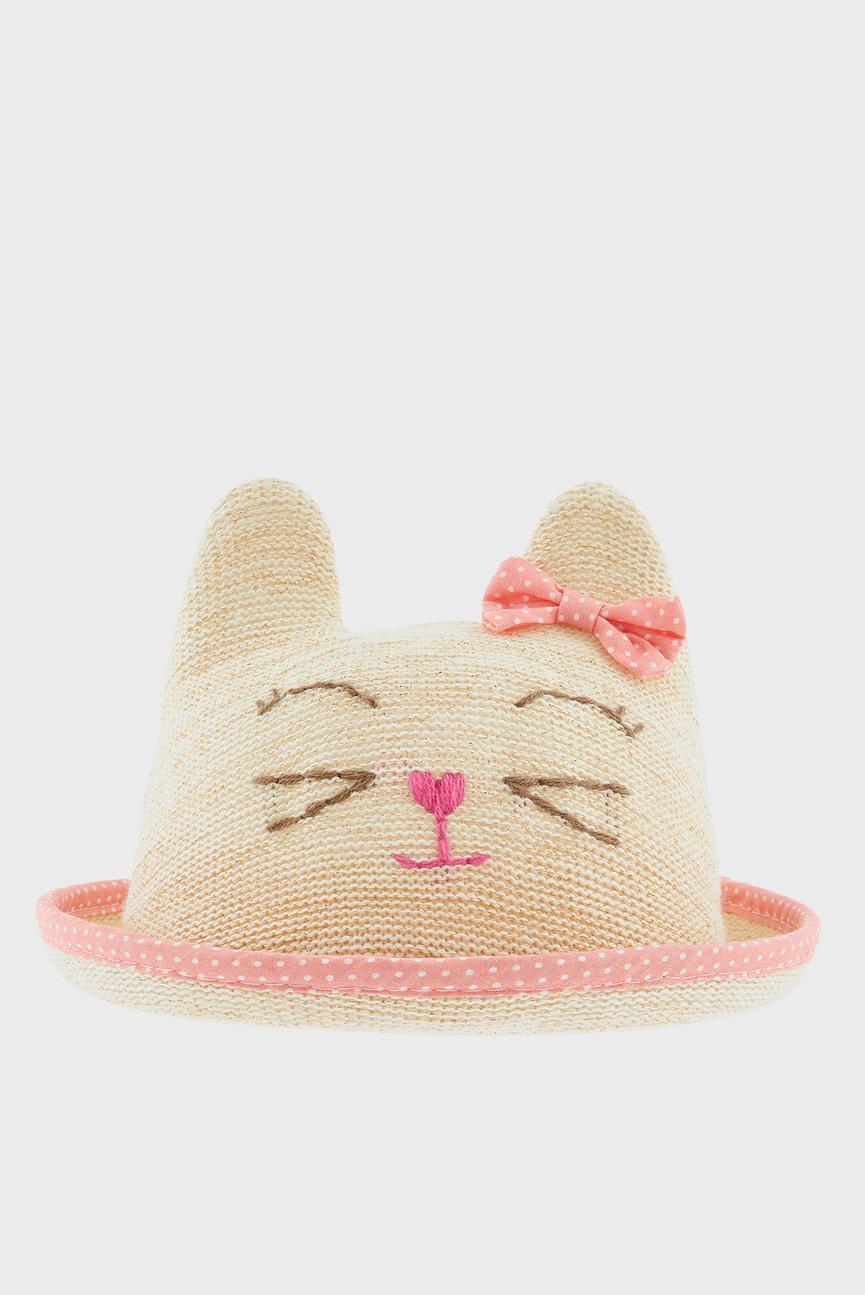 Детская бежевая шляпа BABY CATHERINE CAT