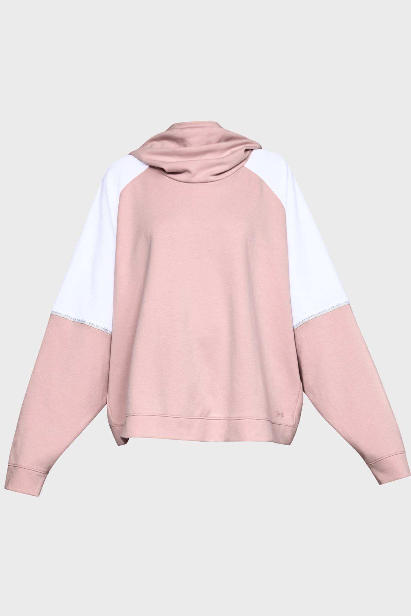 Купить Женское розовое худи UNSTOPPABLE DOUBLE KNIT OS HOODIE Under Armour Under Armour 1328226-602 – Киев, Украина. Цены в интернет магазине MD Fashion