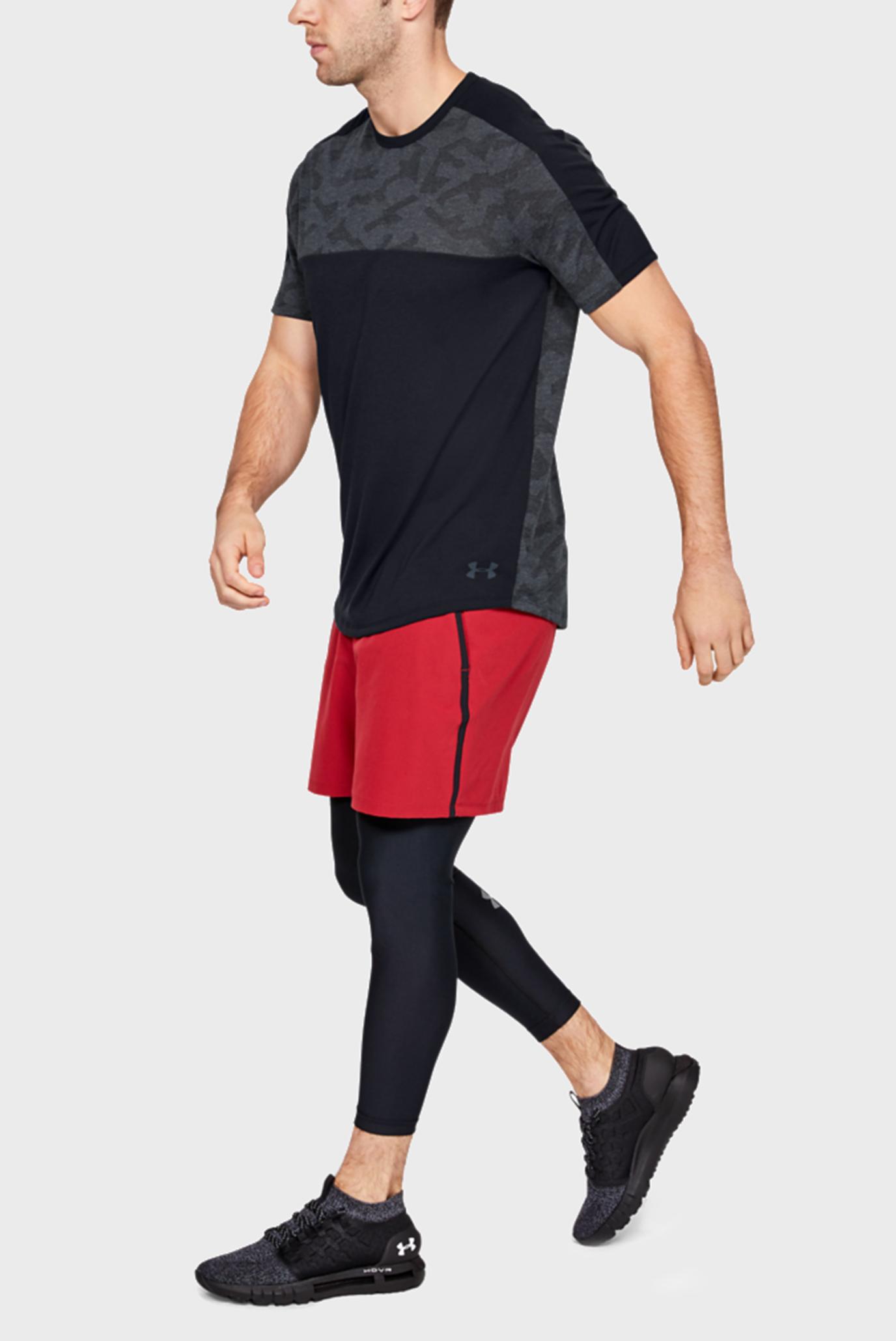 Купить Мужская черная футболка UA Siro Elite SS Under Armour Under Armour 1327672-001 – Киев, Украина. Цены в интернет магазине MD Fashion