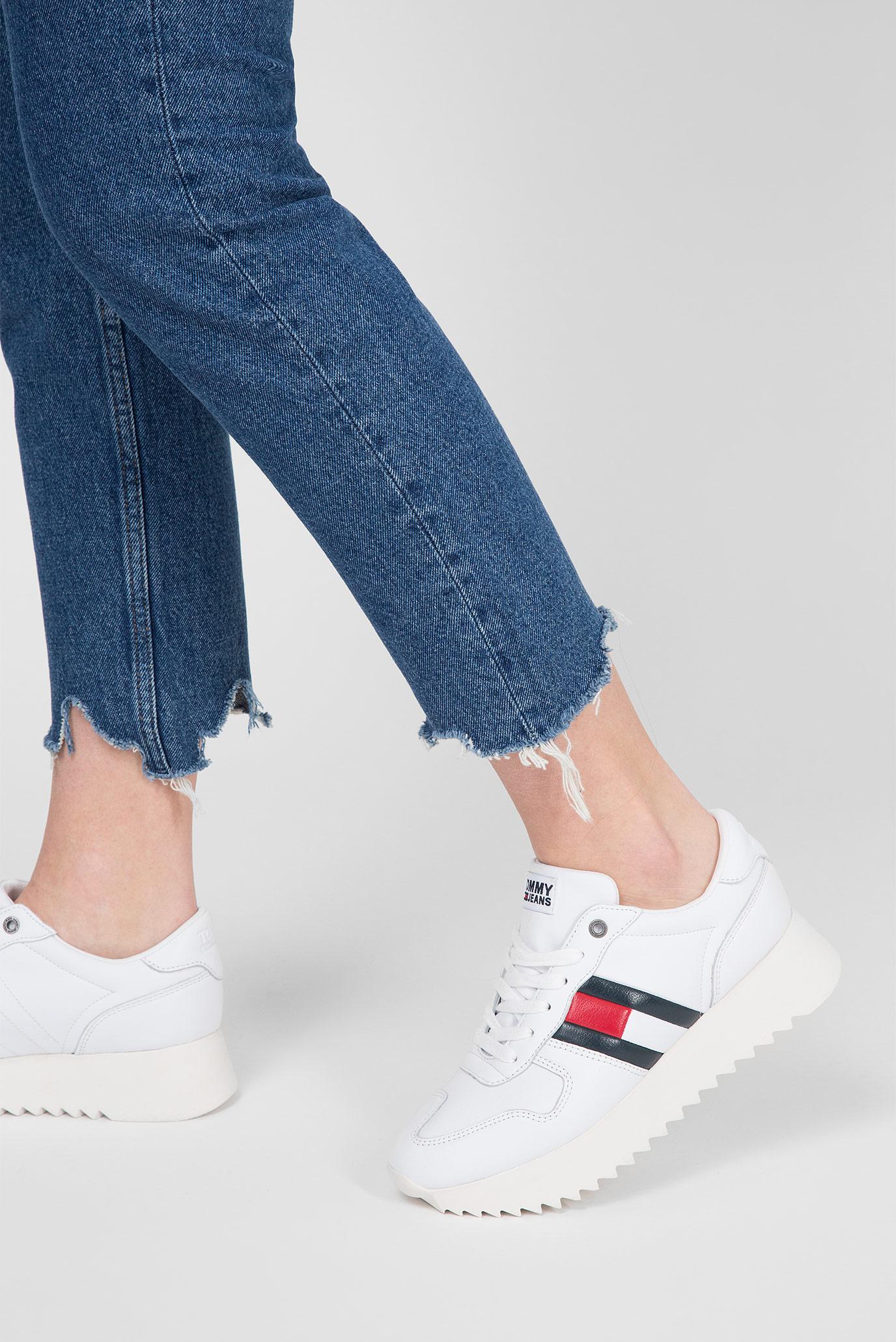 Купить Женские синие джинсы HIGH RISE SLIM IZZY Tommy Hilfiger Tommy Hilfiger DW0DW04757 – Киев, Украина. Цены в интернет магазине MD Fashion