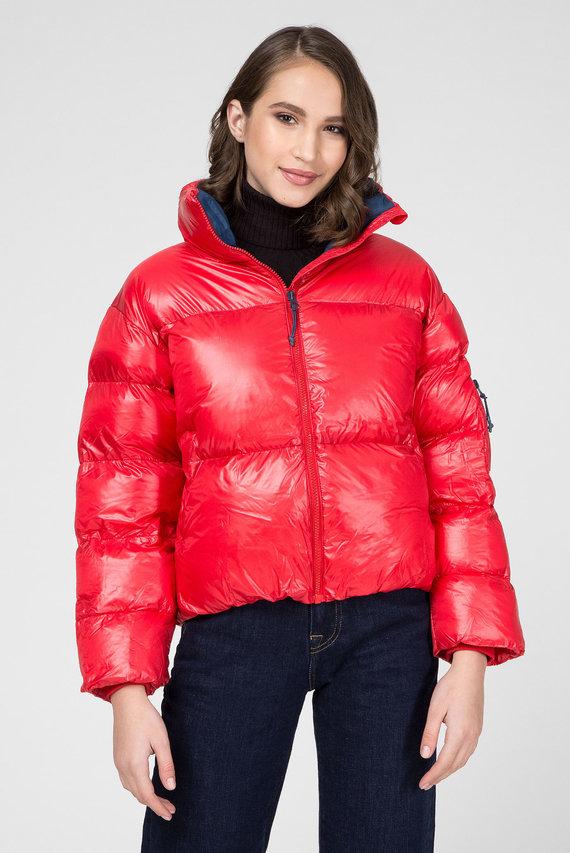 Женская красная куртка CLAIRE