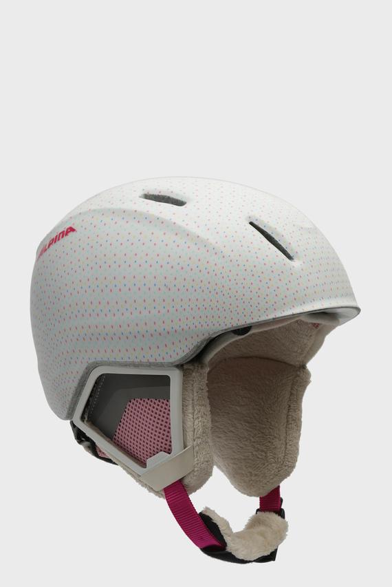 Детский горнолыжный шлем в горошек Carat XT