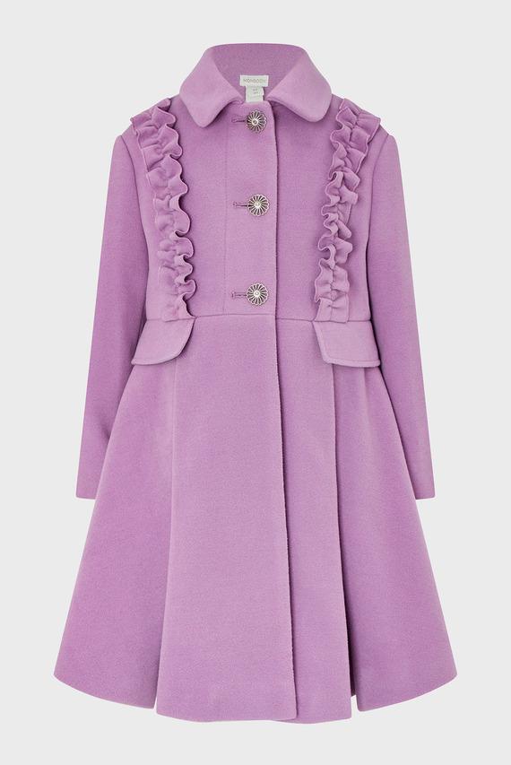 Детское фиолетовое пальто Lily Coat