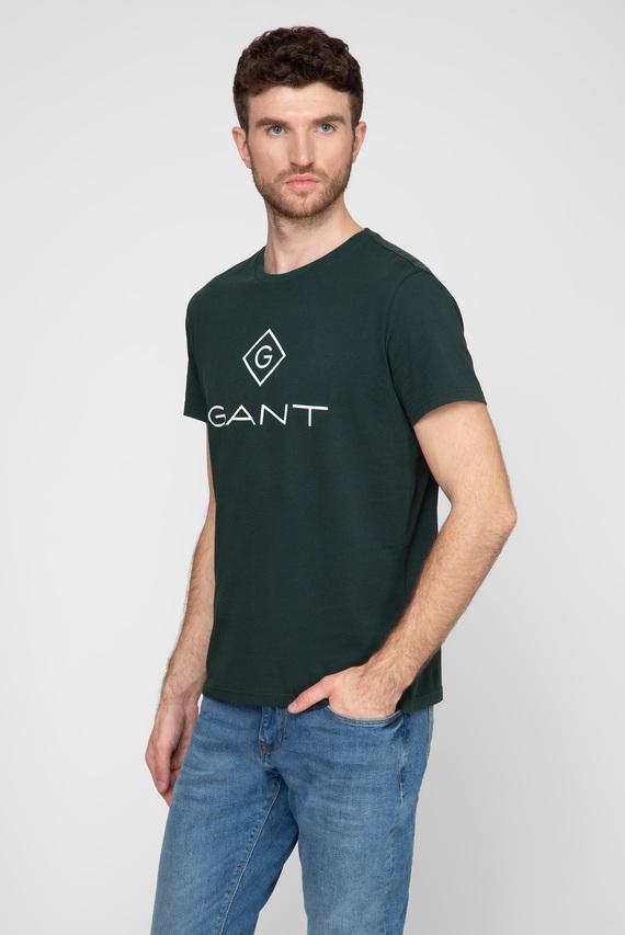 Мужская зеленая футболка