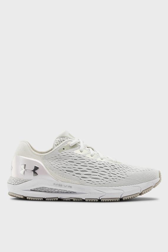 Женские белые кроссовки UA W HOVR Sonic 3 W8LS