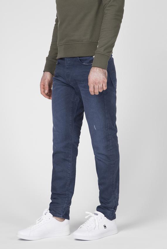 Мужские синие джинсы G-bleid Slim