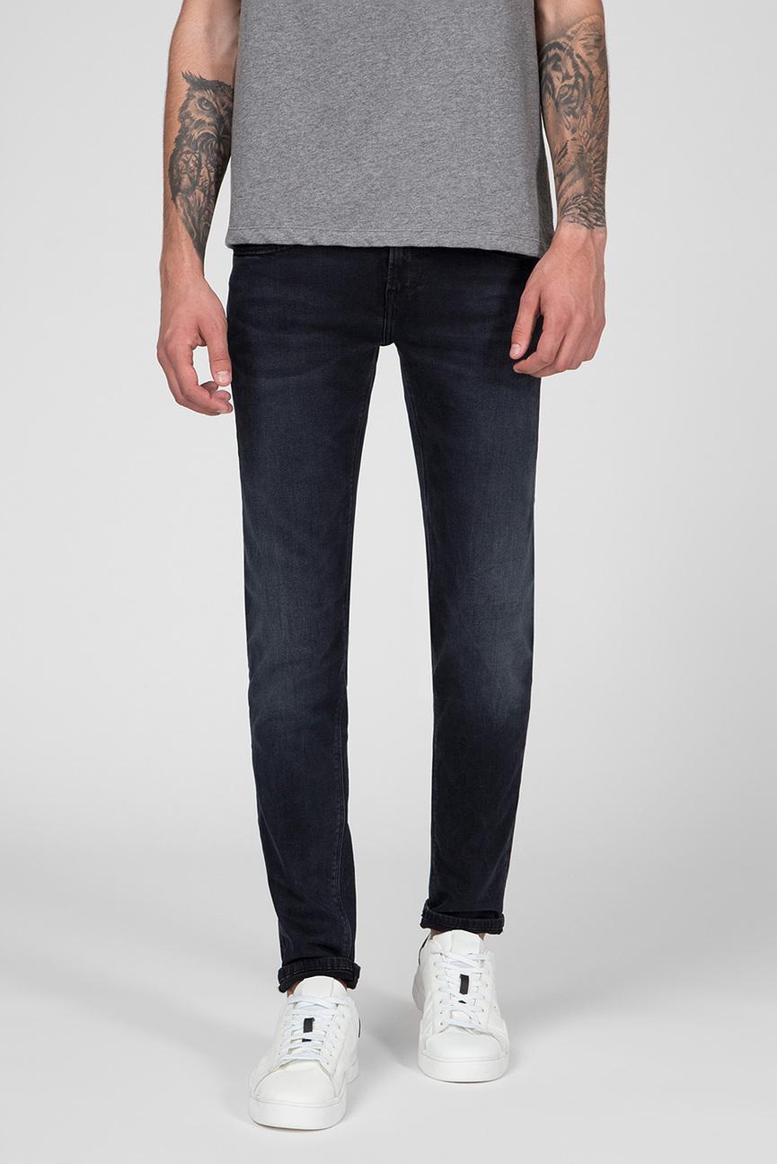 Мужские темно-синие джинсы HATCH