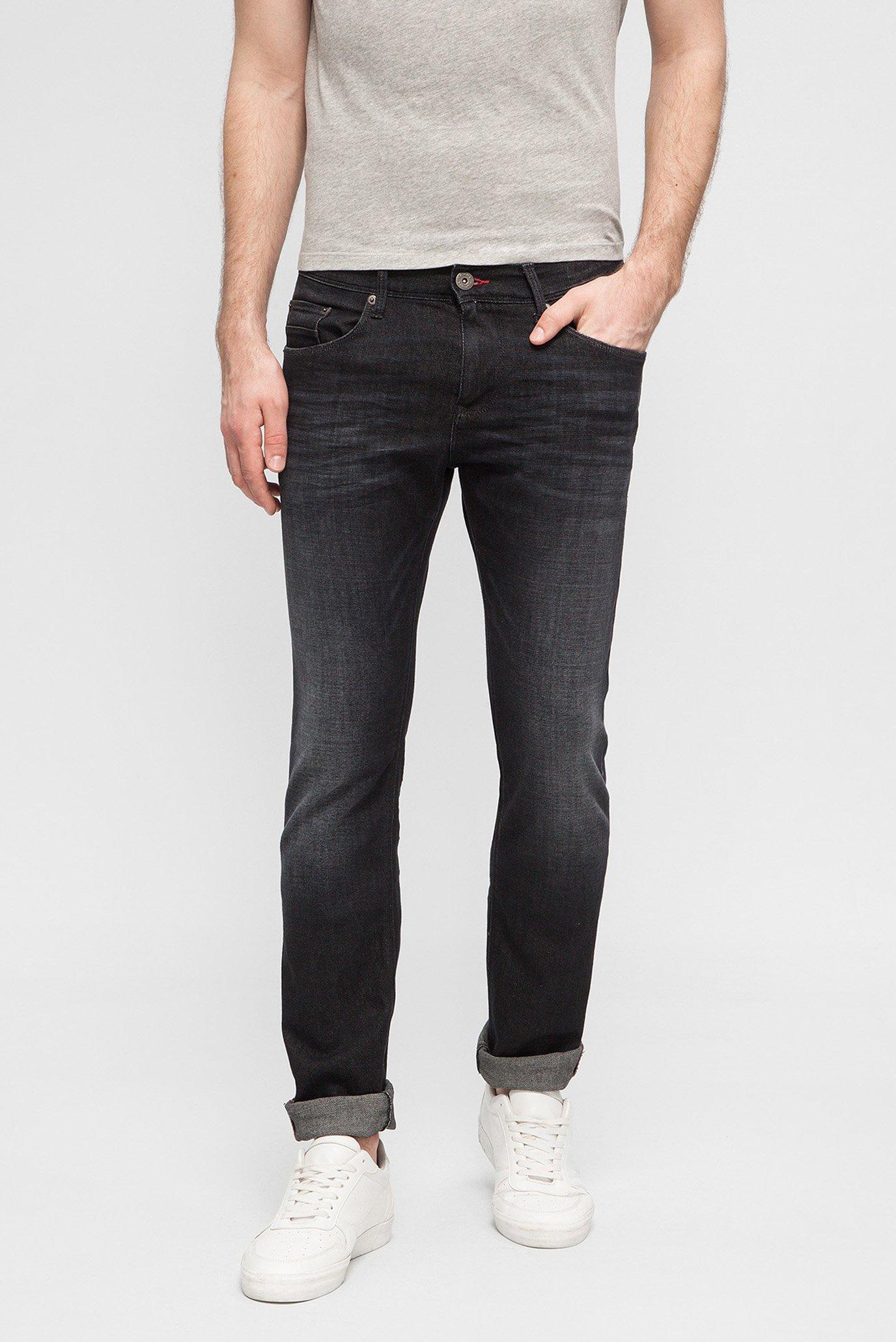 Купить Мужские темно-серые джинсы BLEECKER Tommy Hilfiger Tommy Hilfiger MW0MW06371 – Киев, Украина. Цены в интернет магазине MD Fashion
