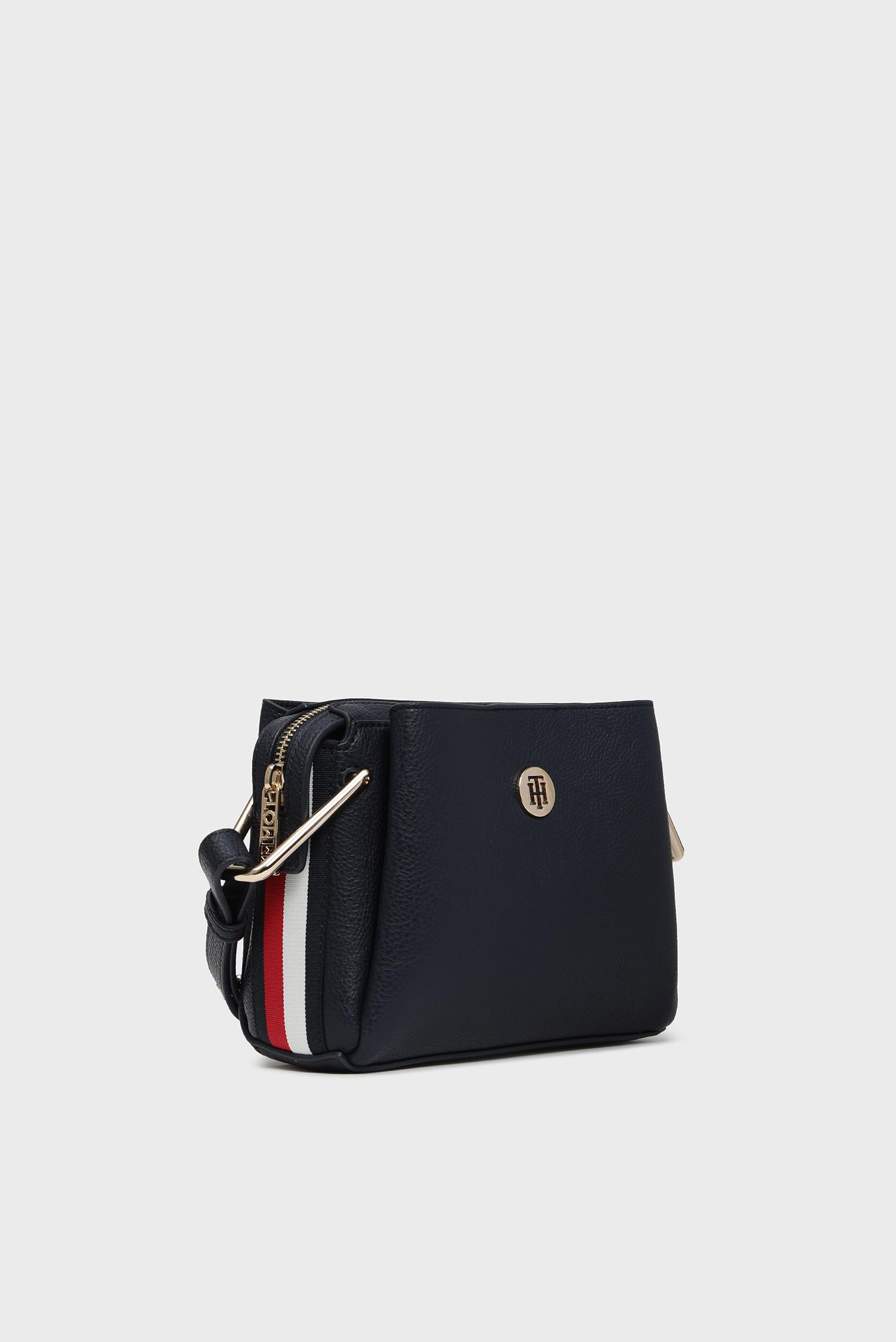 Женская темно-синяя сумка через плечо TH CORE CROSSOVER CORP Tommy Hilfiger