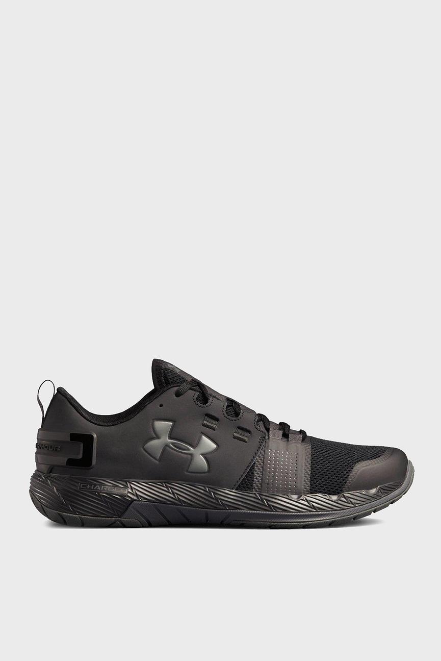 Мужские черные кроссовки кроссовки UA Commit TR X NM