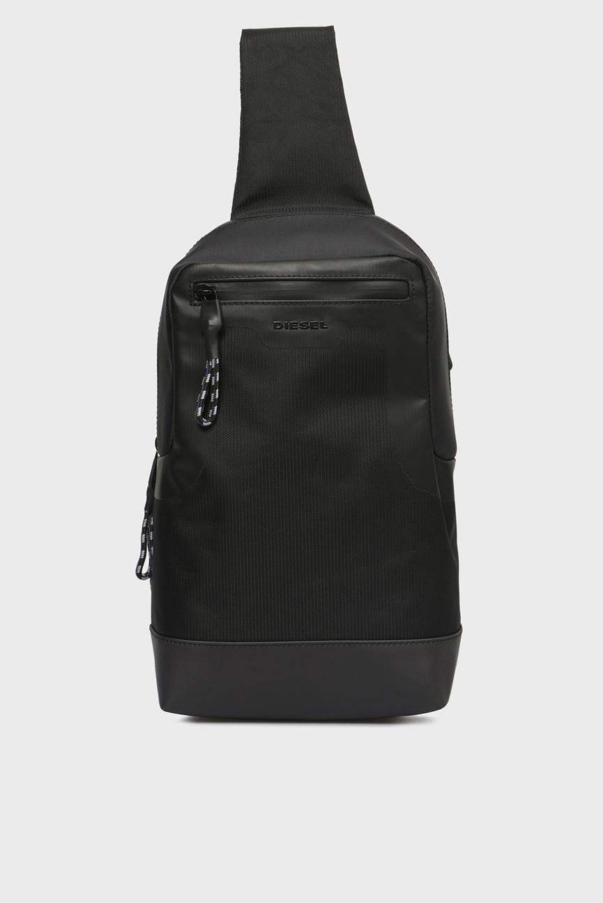 Мужской черный рюкзак SUSEGANА