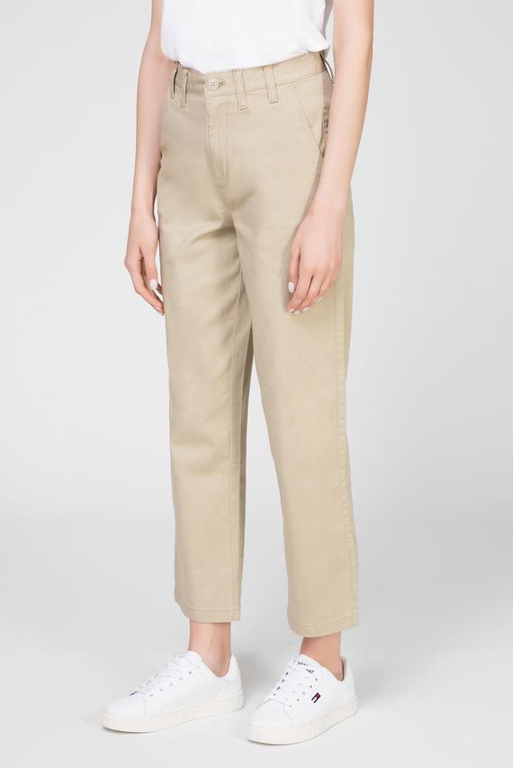 Женские бежевые брюки TJW HIGH RISE STRAIGHT