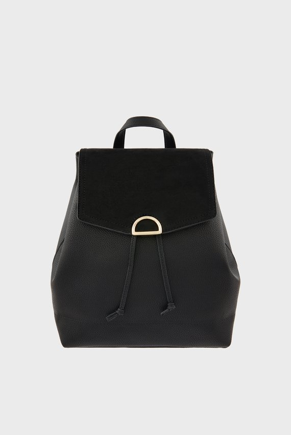 Женский черный рюкзак KIMMI BACKPACK