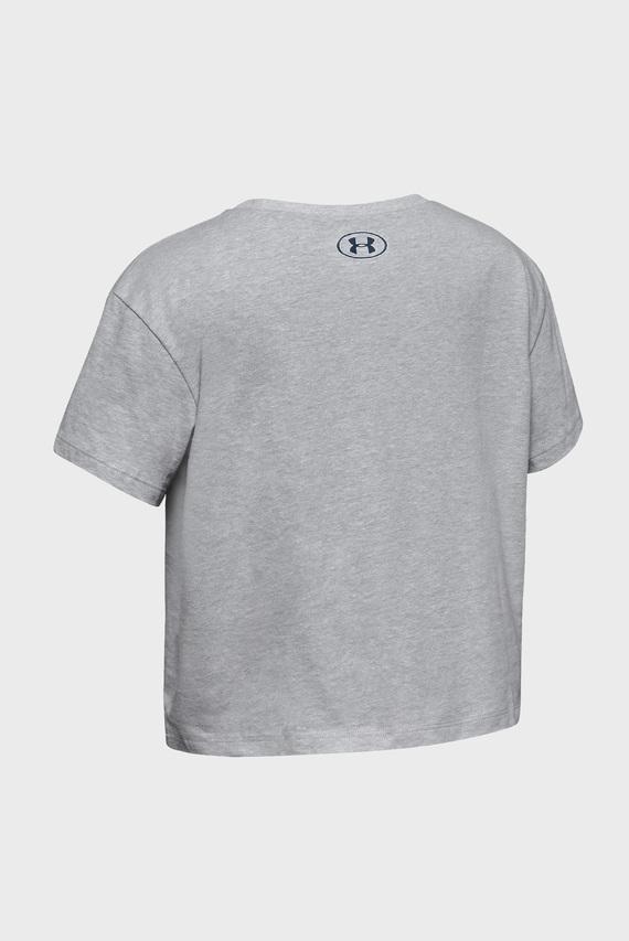 Детская серая футболка Rival Print Fill SS-GRY