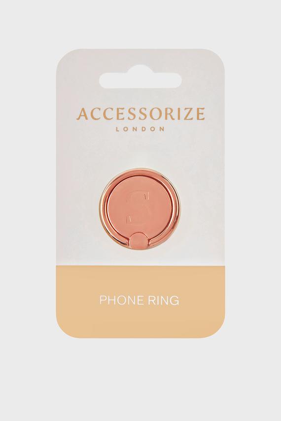 Золотистый аксессуар для телефона Initial Phone Ring S