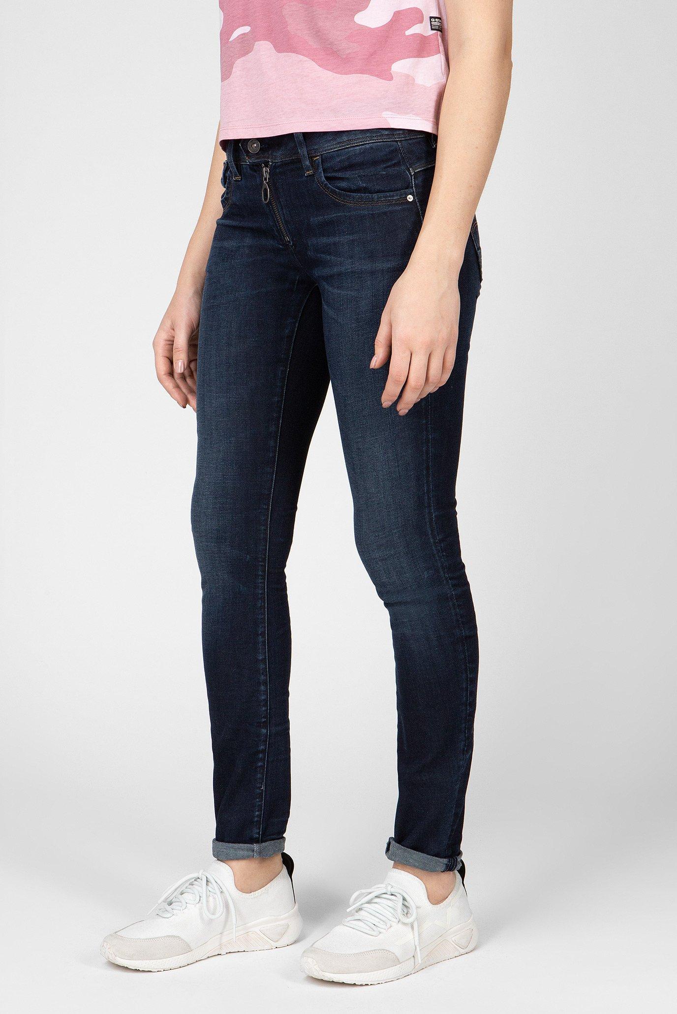 Купить Женские темно-синие джинсы LYNN Zip G-Star RAW G-Star RAW D12372,8968 – Киев, Украина. Цены в интернет магазине MD Fashion