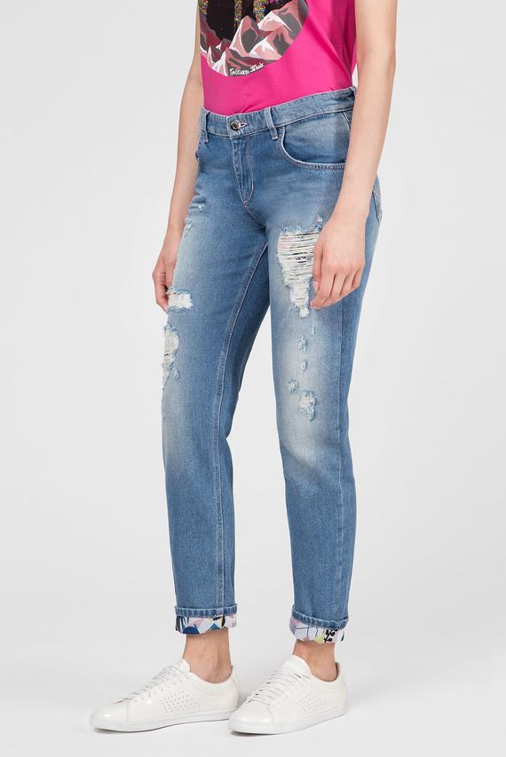 Женские голубые джинсы GIRLFRIEND SEASONAL - DENIM