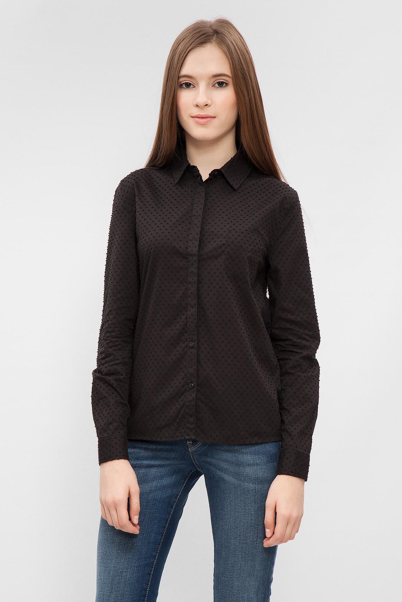 0c56b4341b4 Купить Женская черная рубашка Pepe Jeans Pepe Jeans PL302195 – Киев ...