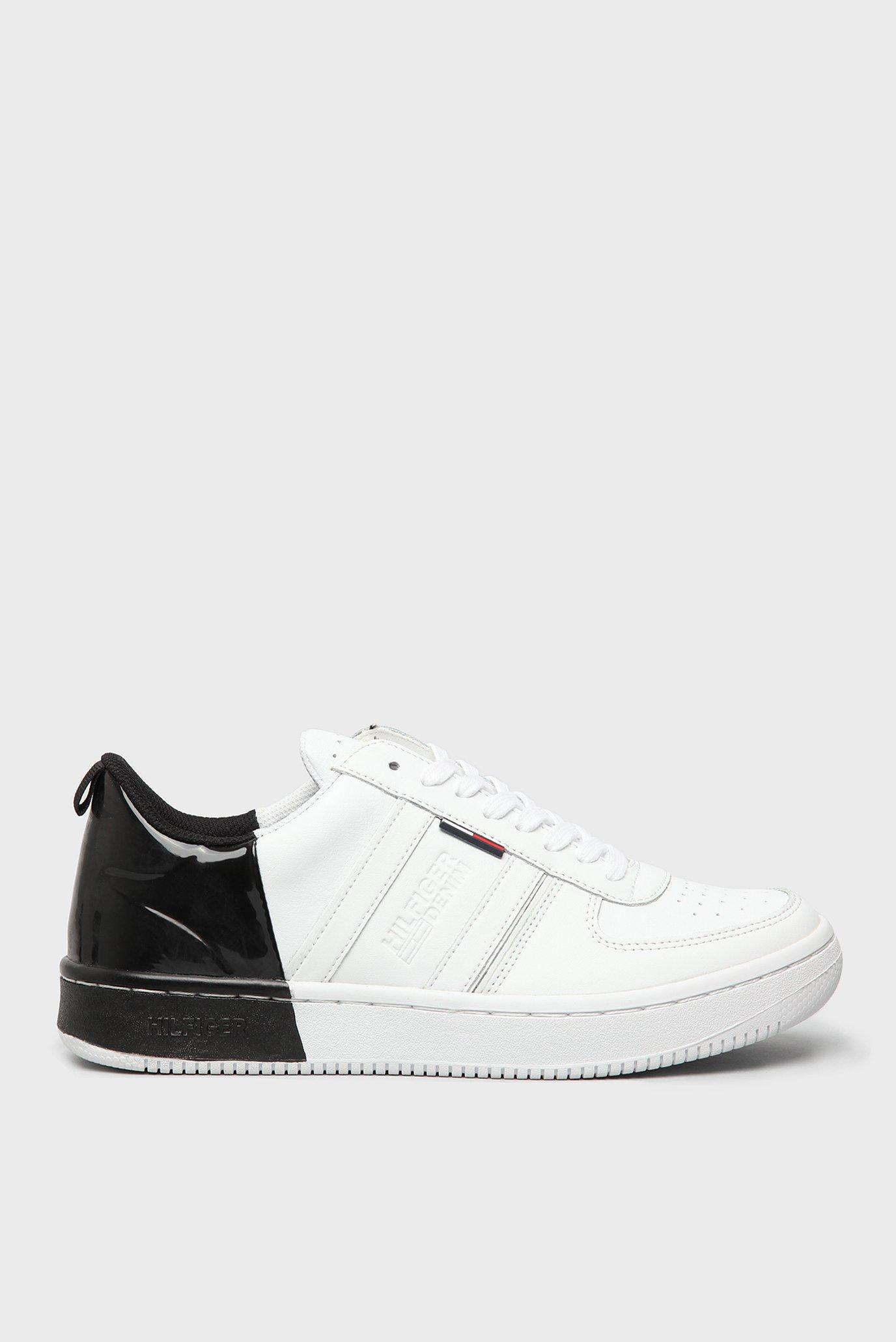 Купить Мужские белые кожаные кроссовки Tommy Hilfiger Tommy Hilfiger  FM0FM00461 – Киев ce1a1914e99cb