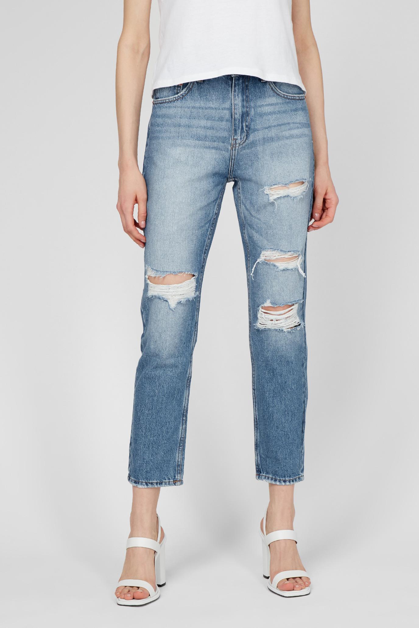 Женские светло-голубые джинсы Light blue 1