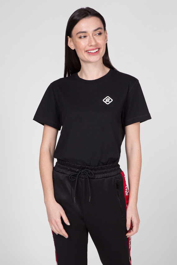 Черная футболка CC-T-DIEGO-COLA