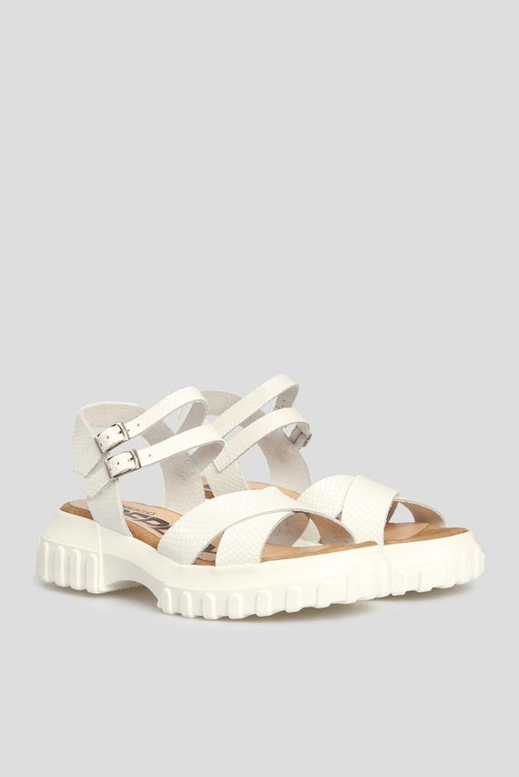 Женские белые сандалии ATLAN