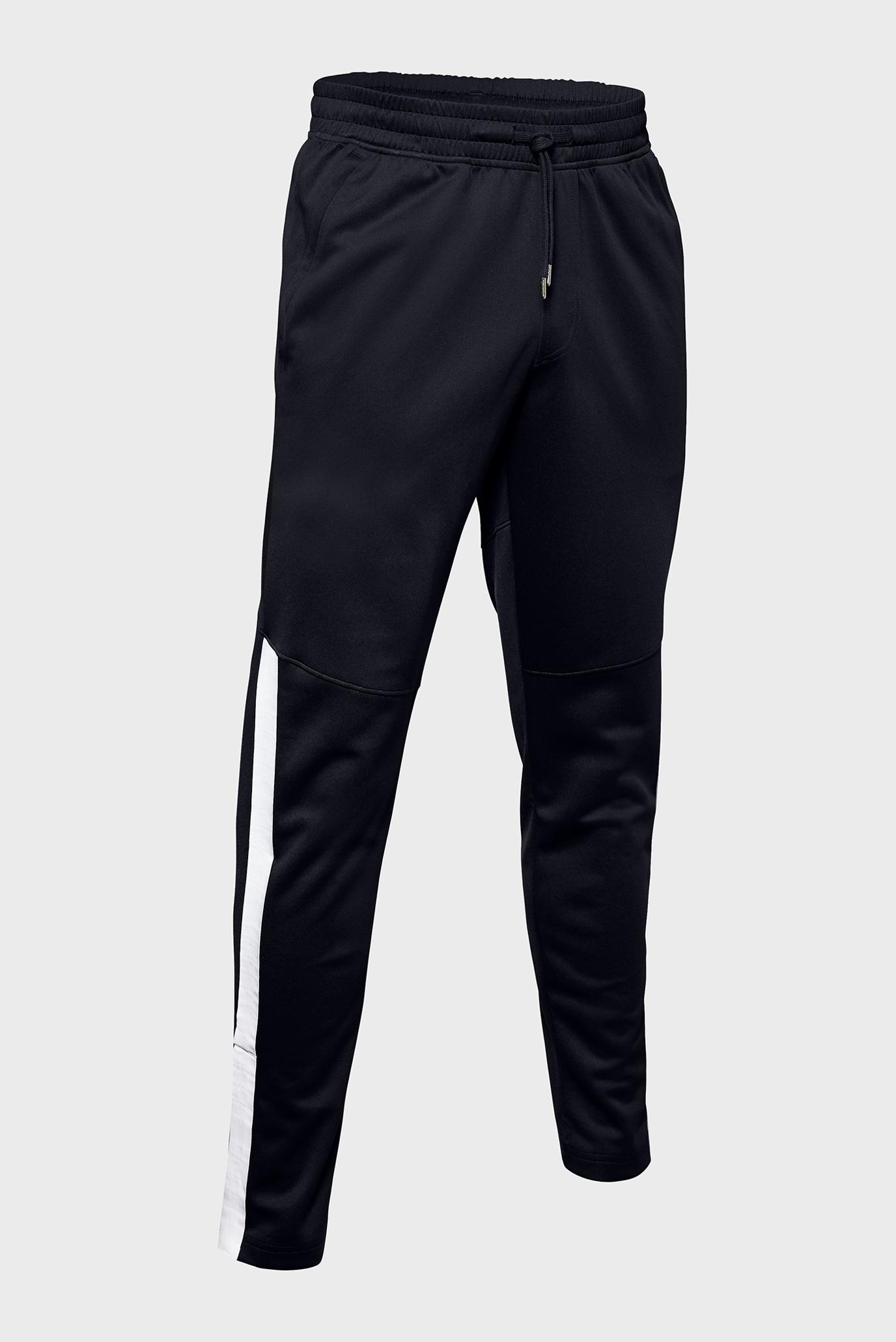 Мужские черные спортивные брюки Athlete Recovery Knit Warm Up Bottom Under Armour
