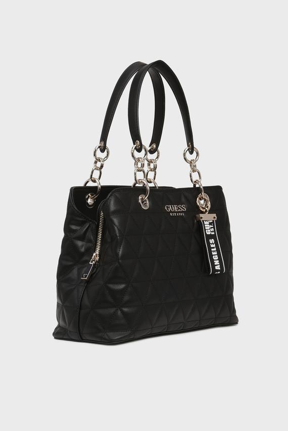Женская черная сумка на плечо LAIKEN GIRLFRIEND SATCHEL