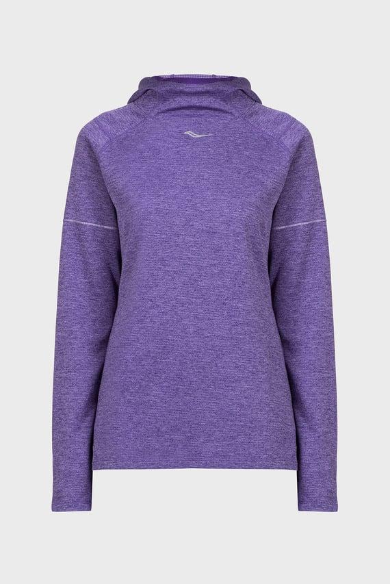 Женское фиолетовое худи RUNSTRONG THERMAL