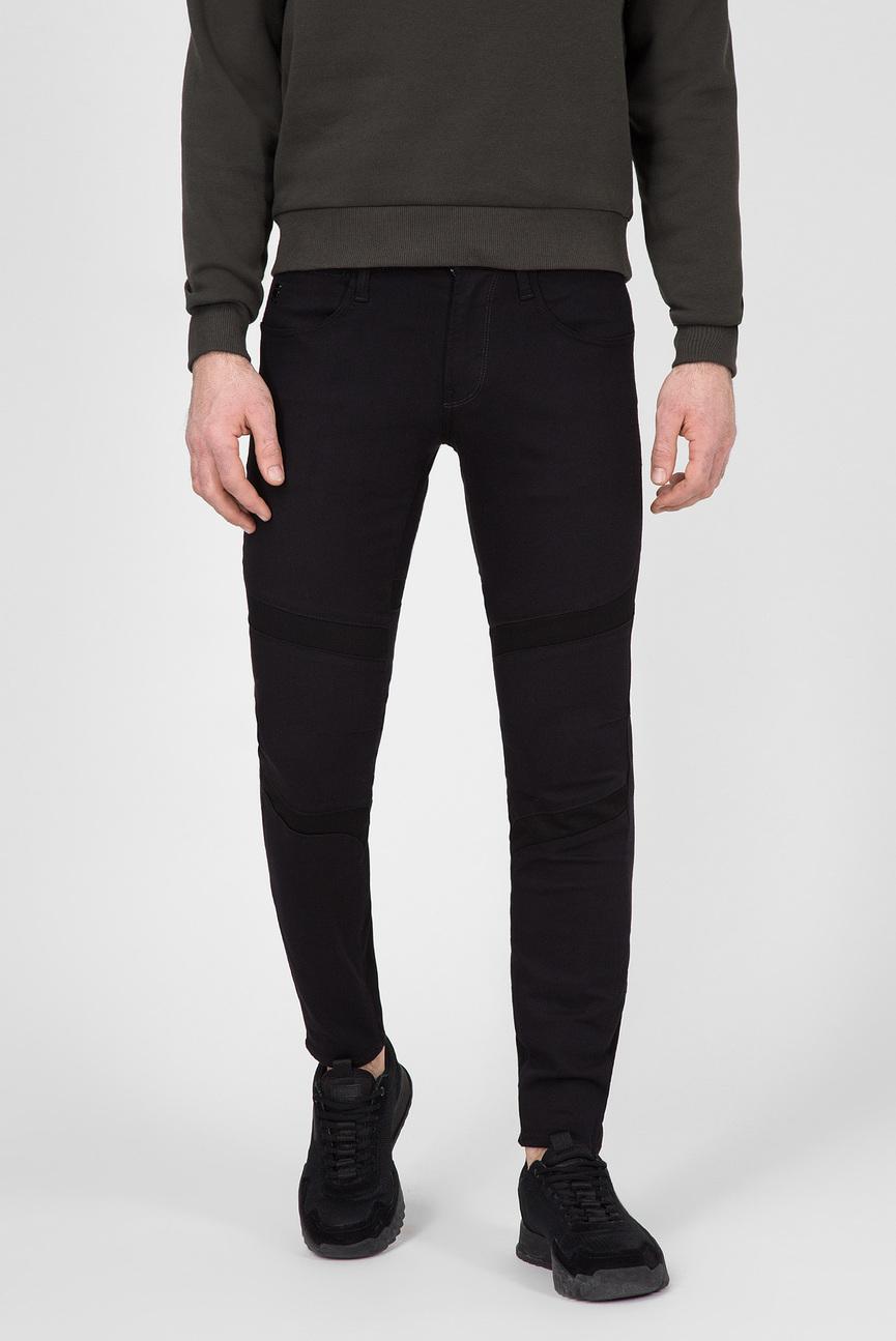 Мужские черные джинсы MOTAC-0