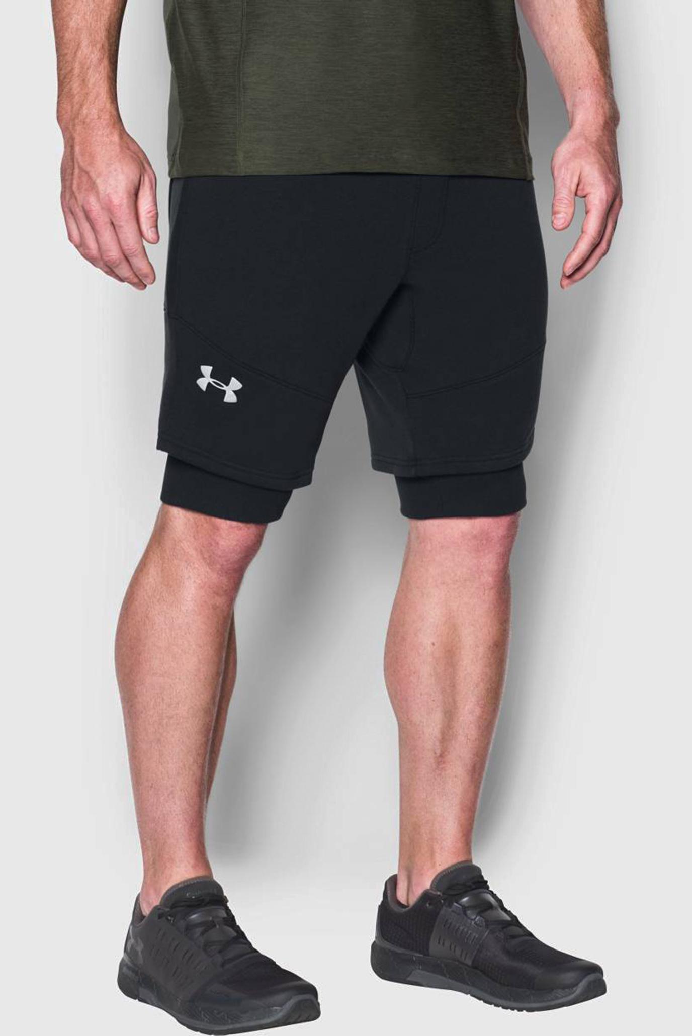 Купить Мужские черные шорты Threadborne Novelty Short Under Armour Under Armour 1299139-001 – Киев, Украина. Цены в интернет магазине MD Fashion