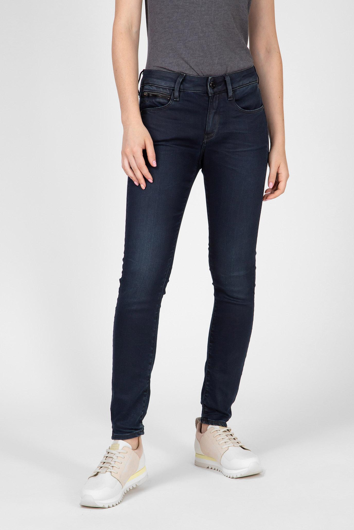 Купить Женские темно-синие джинсы 3301 Studs Mid Skinny Wmn G-Star RAW G-Star RAW D12902,9615 – Киев, Украина. Цены в интернет магазине MD Fashion