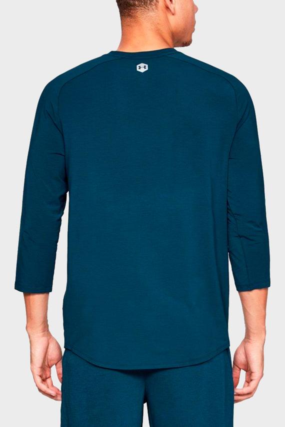 Мужской синий домашний лонгслив Recovery Sleepwear Elite 3/4 Henley