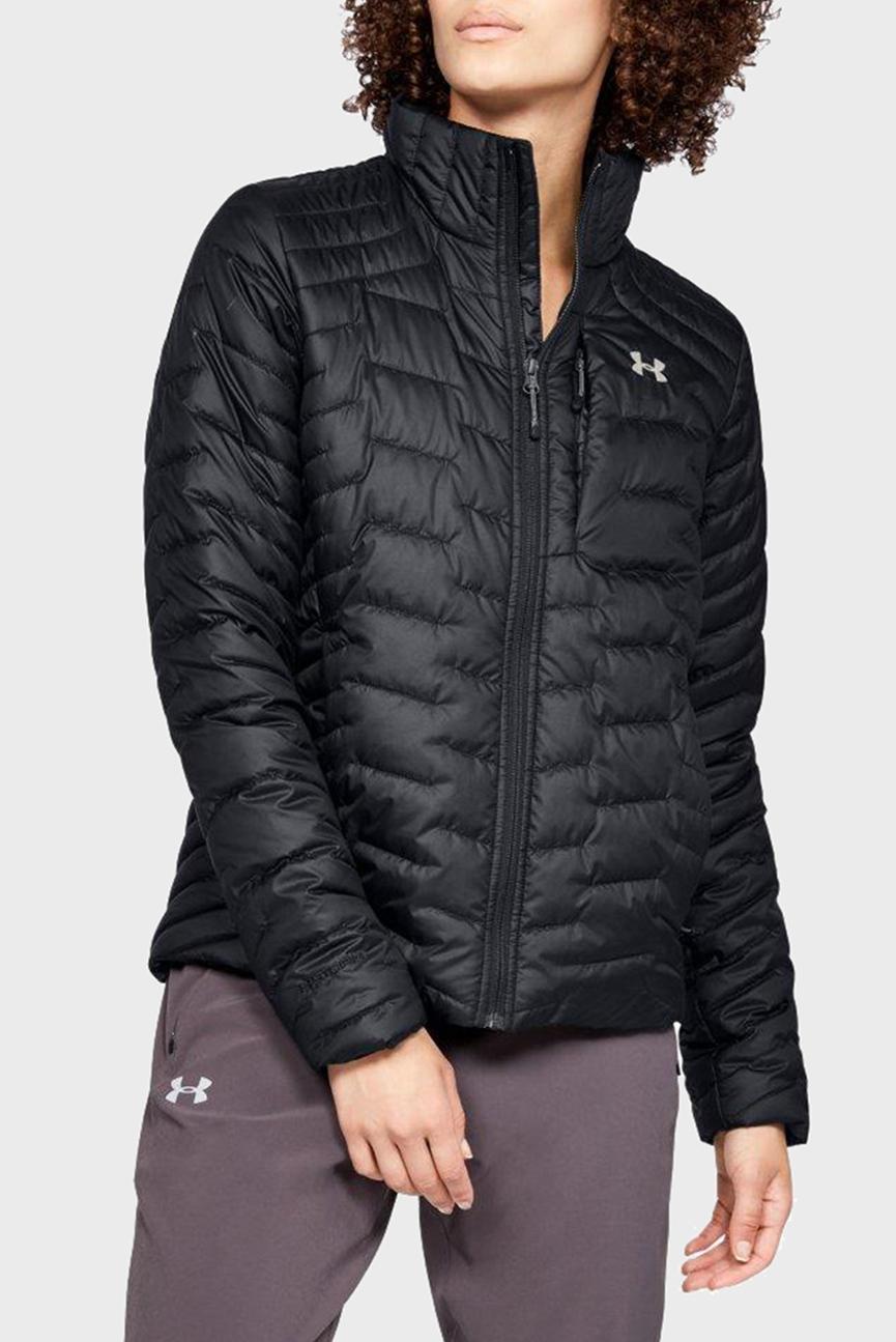 Женская черная куртка UA CG Reactor Jacket