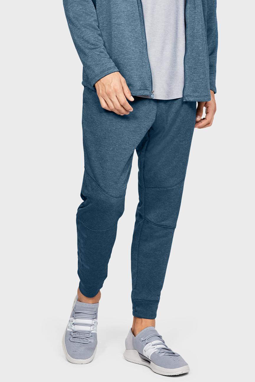 Мужские синие спортивные брюки UA MK-1 Terry Joggers