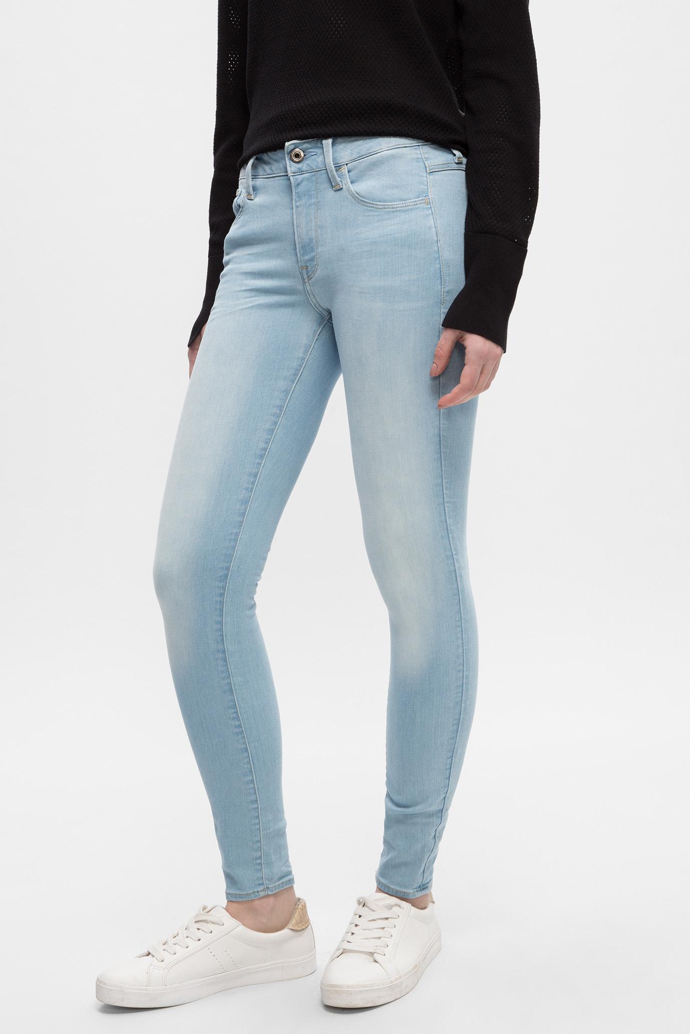 Купить Женские голубые джинсы 3301 D-Mid Skinny Ankle G-Star RAW G-Star RAW D07331,9442 – Киев, Украина. Цены в интернет магазине MD Fashion